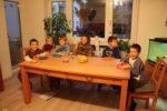 Abendmahl mit Kindern